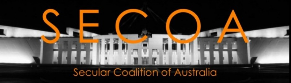 SECOA - Secular Coalition of Australia