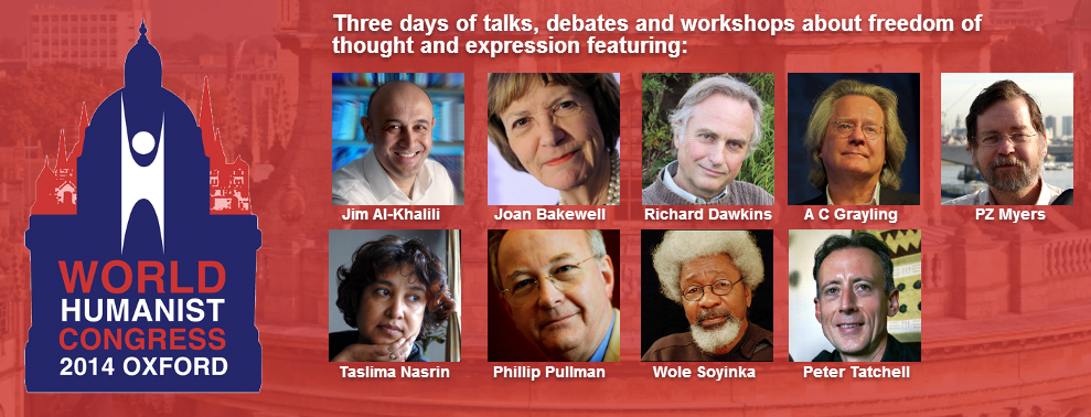 WORLD HUMANIST CONGRESS 2014 OXFORD