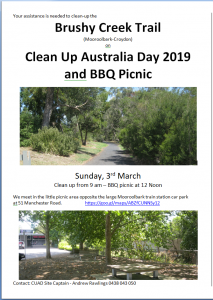 Clean Up Day Poster (reduced size)