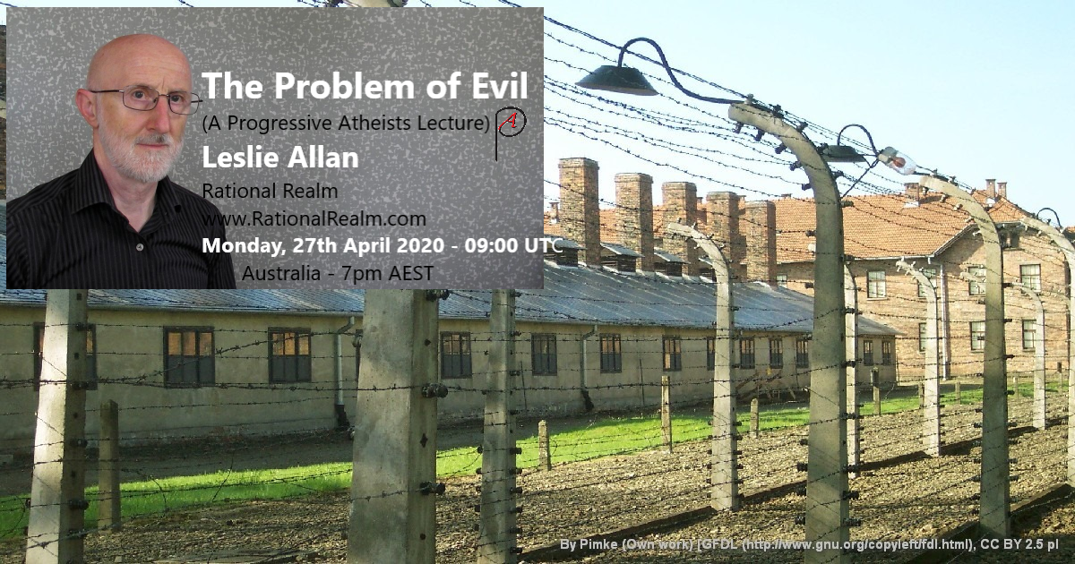 prison camp - Progressive Atheists lecture details - PA logo